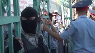 Незаконные торговые ряды под снос – в Туркестане торговцев выселяют с насиженных мест.