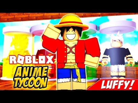 Me Convierto En Luffy Por 1 Dia En Roblox Anime Tycoon
