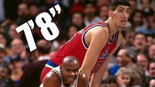 3 Tallest NBA Players In NBA History