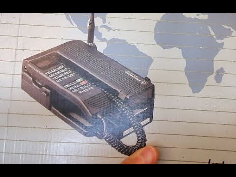 Unboxing Motorola 1000 vintage Brick phone from 1993