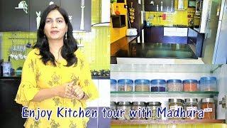 Madhura's Kitchen Tour | Kitchen Organization Idea | Kitchen Storage Idea