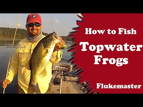 How to Fish Topwater Frogs – Bass Fishing