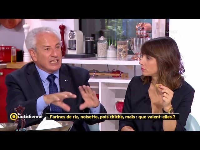 Angèle sur «La Quotidienne» Fr5: Farines de riz, noisettes, pois chiche… mais que valent-elles ?!