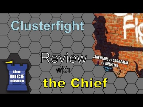 The Dice Tower: Chief Reviews Clusterfight