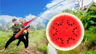 Kids go to School | Hacona Use Magic Big Watermelon Giant Pear Song for Childrens  #2