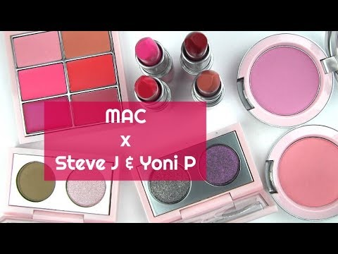 MAC x Steve J & Yoni P Collection: Live Swatches & Review