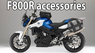 New BMW F800R Details And Accessories