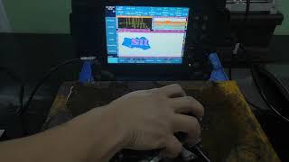 Έλεγχος διάβρωσης με συσκευή SyncScan 2 32128 PR PAUT και Crawler MPS 02 SIUI