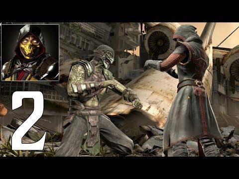 Mortal Kombat Mobile - Gameplay Walkthrough Part 2 - Reptile