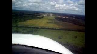 preview picture of video 'Landing at Lusaka International Airport'