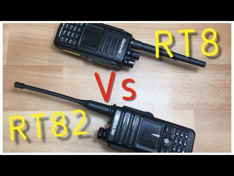 Finalmente disponibile la radio tanto attesa Retevis RT82