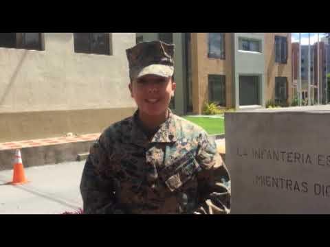 Saludos al Ejército Nacional de Nuestros Alumnos Extranjeros