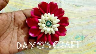 Bridal Jadai Billai with fresh flowers