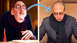 """I Turned My Dad Into A Pixar Character: Anton Ego From """"Ratatouille"""""""