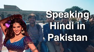 Foreigner Speaking Hindi/Urdu in Pakistan