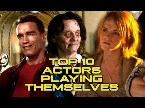 Top 10 Moments Actors Played Themselves (JoBlo.com) Emma Watson, Arnold Schwarzenegger