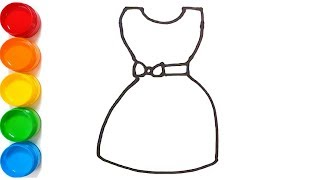 Descargar Mp3 De How To Draw A Dress Easy For Kids Gratis Buentema Org
