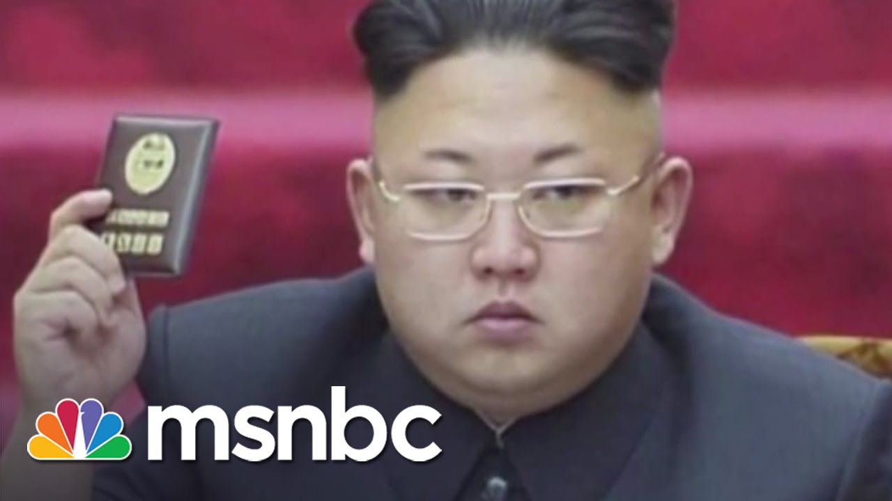 Where Is North Korea's Kim Jong Un? | msnbc thumbnail