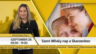 Programajánló / TV Szentendre / 2018.09.27.