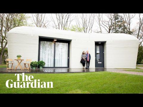 Europa se eerste 3D-gedrukte huis