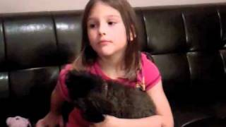 Lisa Cerasoli fait parler sa fille sur la maladie de sa grand-mère - avril 2011