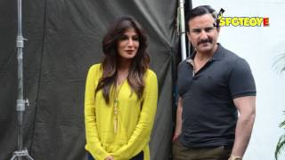 SPOTTED: Saif Ali Khan and Chitrangada Singh on the sets of Bazaar | SpotboyE
