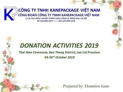 Hoạt động từ thiện tại Lào Cai 2019 | Donation activities  2019