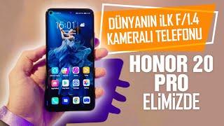 Fiyatı şaşırtan Honor 20 Pro ön inceleme