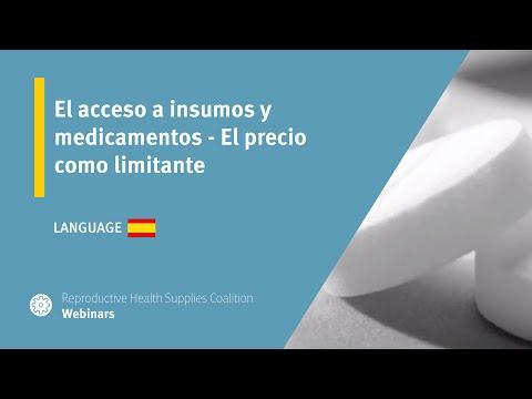 El acceso a insumos y medicamentos - El precio como limitante