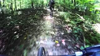 Kickapoo State Park mountain biking