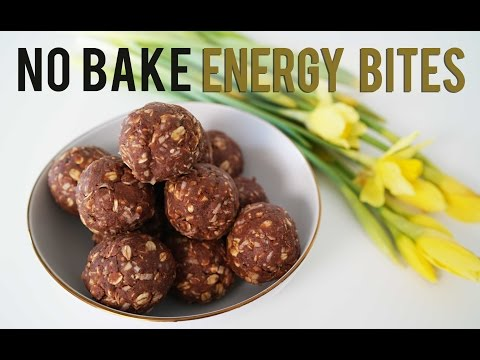 Video Healthy No Bake Recipe - Energy Bites | ANN LE