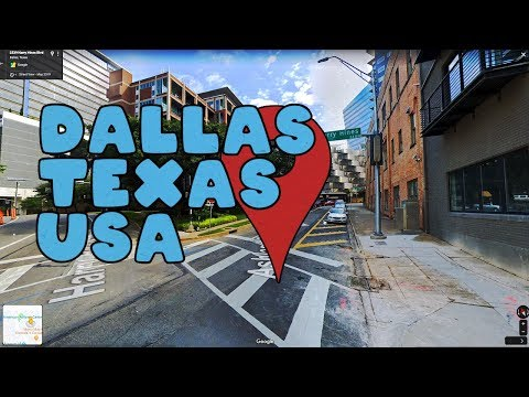Let's take a virtual tour of Dallas Texas