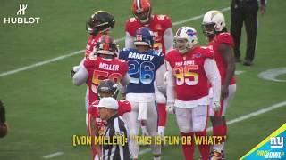 Saquon Barkley Mic'd Up at the Pro Bowl