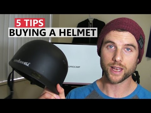 5 Tips for Buying a Helmet – Snowboard Gear