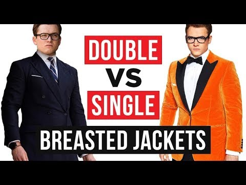 Ultimate Guide To Double Breasted vs Single Breasted Jackets | RMRS Style Videos
