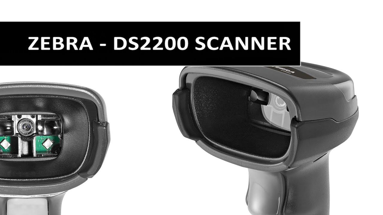 Zebra - DS2200 Series Product Video - Area Imager - 1D, 2D, QR code, PDF417 - Barcode Scanner