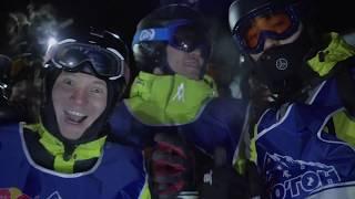 Массовая ночная горнолыжная гонка на Чимбулаке