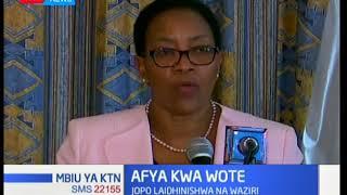Waziri wa Afya aidhinisha jopo la 'Afya Kwa Wote'