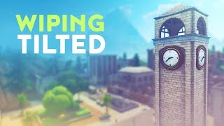 WIPING TILTED | 18 BOMB BEFORE LEAVING TILTED TOWERS (Fortnite Battle Royale)