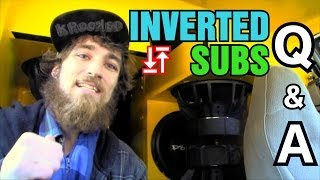Why Do People Invert Subwoofers? EXO Car Audio Q & A : Inverted Subs Myths & Facts