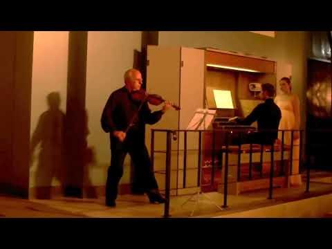 Albinoni- Adajio in g-minor violin-Artash Terzian,organ-Luka Gadeliya