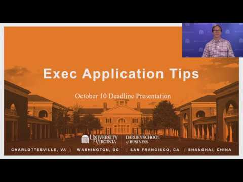 Exec Application Tips - October 2018