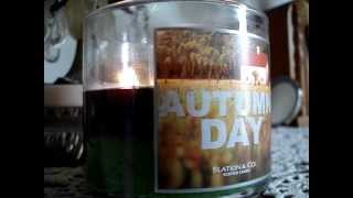 Bath and Body Works Slatkin Candle Review- Candle of the Week: Autumn Day