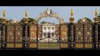 preview picture of video 'Golden gates at Warrington town hall'