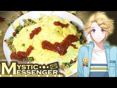 How to Make YOOSUNG'S OMELETTE from MYSTIC MESSENGER! Feast of Fiction S6 E9