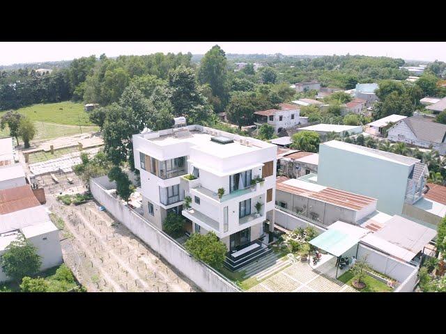 Thiết kế thi công biệt thự 3 tầng hiện đại tại huyện Củ Chi, TpHCM
