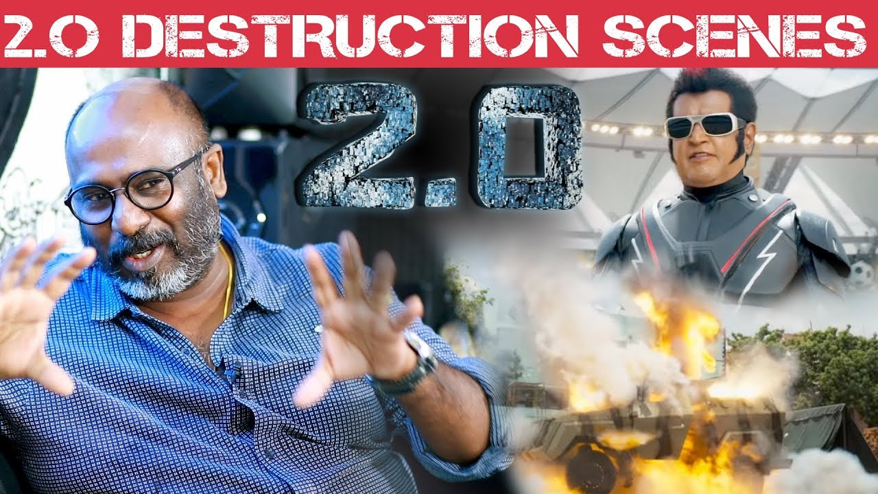 Most of the 2.0 Set was destroyed by Shankar - Art Director Muthuraj