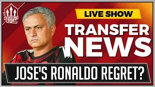 Mourinho Wanted Ronaldo! Plus Bale Transfer Latest! Man Utd Transfer News