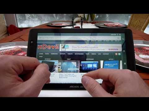 Archos 101 Internet Tablet komplett Test [Deutsch]