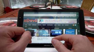 Archos 101 Internet Tablet komplett Test [Deutsch]